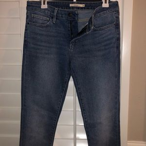 Levi's light blue skinny jeans